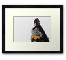 Darkest Knight  Framed Print