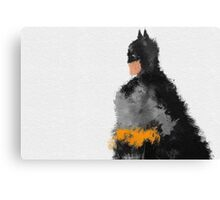 Darkest Knight  Canvas Print