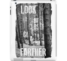 Look Closer iPad Case/Skin