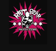 Riot Bear Productions pink and black  Unisex T-Shirt
