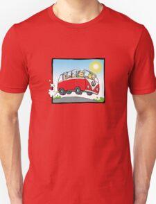 VW Camper Van - day Unisex T-Shirt