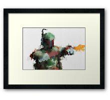 Bounty Hunter Framed Print