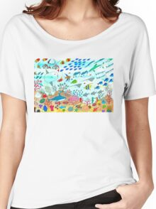 Lisbon Aquarium Women's Relaxed Fit T-Shirt