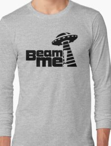 Beam me up V.3.1 (black) Long Sleeve T-Shirt
