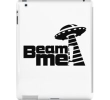 Beam me up V.3.1 (black) iPad Case/Skin