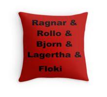 Vikings-1 Throw Pillow