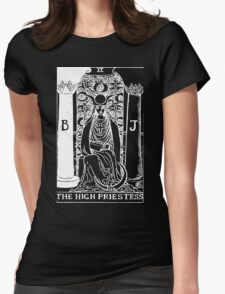The High Priestess Womens Fitted T-Shirt