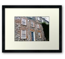 Doc Martin's House, Port Isaac (Port Wenn) Framed Print