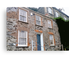 Doc Martin's House, Port Isaac (Port Wenn) Canvas Print