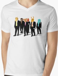 Hotline Miami (Reservoir Dogs) Mens V-Neck T-Shirt