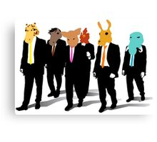 Hotline Miami (Reservoir Dogs) Canvas Print