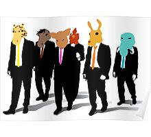 Hotline Miami (Reservoir Dogs) Poster