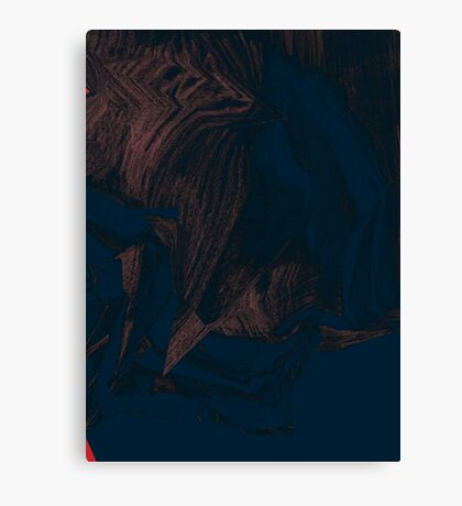 abstract difference Canvas Print