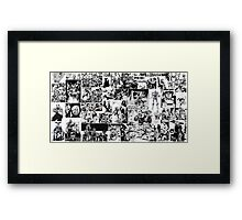 I AM THE LAW! Framed Print