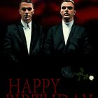 HURTS (Band shot) - Greeting Card by ifourdezign