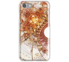 Fiery Temperament - Abstract Fractal Artwork iPhone Case/Skin