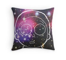 Space Morty Pillow Throw Pillow