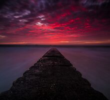 Fire over St Clement by Gary Power by jerseygallery