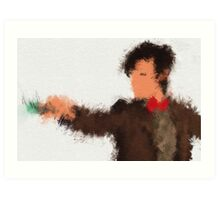 Eleventh Doctor - Doctor Who Art Print