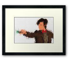 Eleventh Doctor - Doctor Who Framed Print