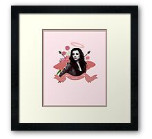 Can see your halo: Ally A Framed Print