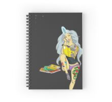 Nerdy Girl Spiral Notebook