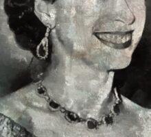 Queen Elizabeth II by MB Sticker