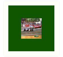 24 h de Le Mans - Vintage - Bentley #8 Bend Art Print