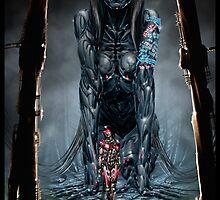 Cyberpunk Painting 025 by Ian Sokoliwski