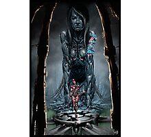 Cyberpunk Painting 025 Photographic Print
