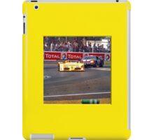 24 h de Le Mans - Vintage - Bend iPad Case/Skin