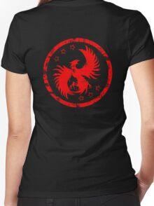 Firehawk Women's Fitted V-Neck T-Shirt