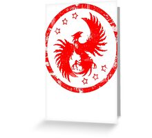 Firehawk Greeting Card