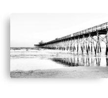 The Pier at Folly Beach Canvas Print