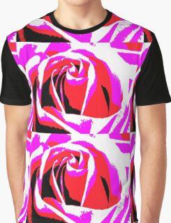 Vivid Rose  Graphic T-Shirt