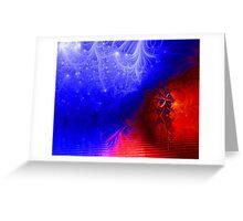 Fractal Nights...By Curt Vinson  Greeting Card