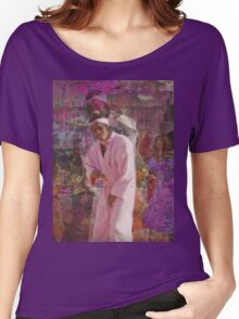 INSPIERD BY song Yamborghini High BY A$AP MOB Women's Relaxed Fit T-Shirt
