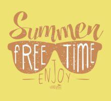Summer Time Kids Tee