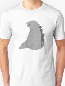 godzilla grey scale 2 T-Shirt