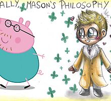 Hannibal - Mason Verger philosophy : Papa Pig by Furiarossa