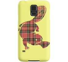 plaidypus  Samsung Galaxy Case/Skin