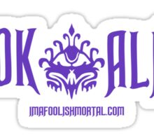 LOOK ALIVE . . . . Haunted Mansion designs by Topher Adam Sticker
