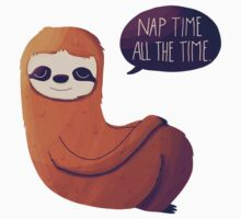 Nap Time, All The Time Kids Tee