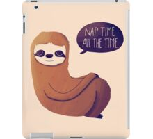 Nap Time, All The Time iPad Case/Skin