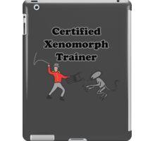 Certified Xenomorph Trainer iPad Case/Skin