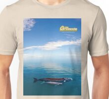 Right Whale with her calf Unisex T-Shirt
