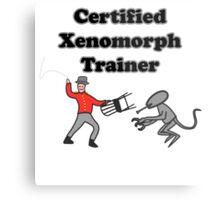 Certified Xenomorph Trainer Metal Print