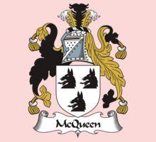 McQueen Coat of Arms/Family Crest Kids Tee