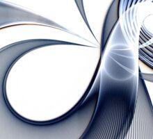 Cosmos - Abstract Fractal Artwork Sticker