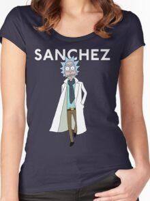 Rick Sanchez  Women's Fitted Scoop T-Shirt
